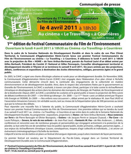 Festival communautaire du film de l'environnement