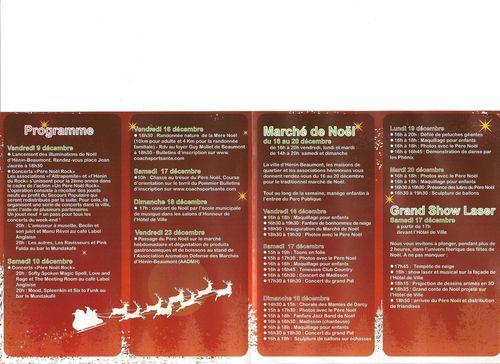 Programme Noel 2011 001